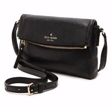 Kate Spade New York Cobble Hill Mini Carson Black Crossbody Messenger Bag Purse