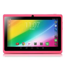 "iRULU 7"" A33 Quad Core Android 4.4.2 KitKat Dual Camera 1.5GHz Pink Tablet PC"