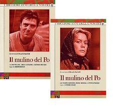 Dvd IL MULINO DEL PO - Vol. 01-02 (Box 5 Dischi) (1963/71) Rai-Eri ......NUOVO