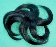 "doll wig/part cap/weaving black 6"" circumference/hairlength approx. 4"""
