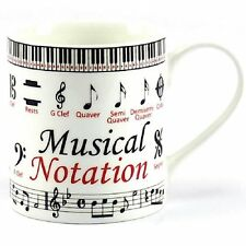 Music Notation Mug by Leonardo Fine China Boxed Ideal gift for Music Lover
