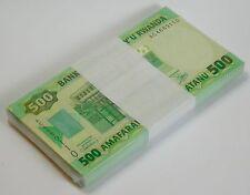 RWANDA 500 FRANCS 2004 P 30 UNC BUNDLE (100 NOTES)