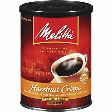 Melitta Hazelnut Creme Ground Coffee, 11-Ounce Cans (Pack of 4)
