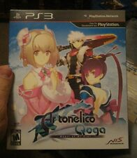 Ar Tonelico Qoga: Knell of Ar Ciel Limited Collector's Edition Sealed PS3