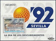 1992 - España Ed 3191  Yv BF-49  ** MNH Nuevo sin Charnela. Perfecto Estado. HB