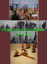 1:72 personaggi 006 Spartacus defeat Set 2 limita-Linear-B solo presenti 7x