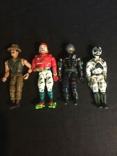 Lot Of 4 Lanard Military Adventure Action Figures Corps!