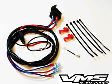 UNIVERSAL HEAVY DUTY PLUG AND PLAY 12V WIRING HARNESS FOR MOTORCYCLE BIKE HORNS