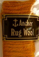 Precut Anchor Rug Wool - 160 pieces - 100% wool - no. 1 Old Gold