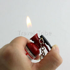 Mini Novelty Fire Extinguisher Style Refillable Butane Gas Cigarette Lighter NEW