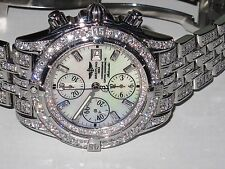 Mens Breitling Chronomat Evolution *** Diamonds Everywhere ***