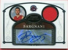 2007 Topps Bowman Sterling Andrea Bargnani Rookie Auto Jersey card