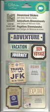 Tapestry by C.R. Gibson Adventure Dimensional Stickers With Video Memory Codes