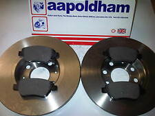 VAUXHALL CORSA D 1.0 MODELS ONLY WITH SOLID FRONT BRAKE DISCS AND PAD SET 06 ON