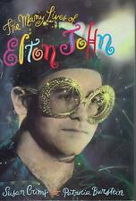 ELTON JOHN  The Many Lives Of Elton John  rare hardback book from 1992
