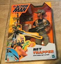 Hasbro Action Man Net Trapper Figure NEW factory sealed