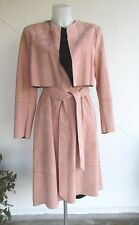 SPORTMAX By MAX MARA cappotto pelle  / coat  leather   New!  48 IT