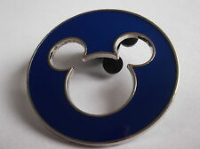 Disney's Mickey Mouse Open Work Blue Head Pin Badge