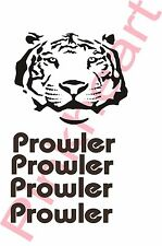 Fleetwood prowler large RV sticker decal graphics trailer camper rv tiger