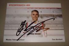 Le Mans 2016 - FIA WEC - Du Mans 2016 Porsche 919 #1 Timo Bernhard Signed Card