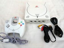 Sega DREAMCAST Console Video Game System COMPLETE and TESTED!