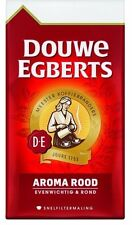 8 x Douwe Egberts Aroma Rood Ground Coffee17.6-Ounce snelfilter 100% Dutch
