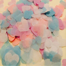 1000/Pack Wedding Love Heart Confetti Table Decor Party Sprinkle Decoration