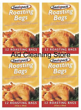 48 X LARGE ROASTING BAGS MIRCOWAVE OVEN COOKING POULTRY CHICKEN TURKEY MEAT FISH