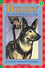 """1996 """"Buddy--The First Seeing Eye Dog"""" by Eva Moore: Paperback:  48 Pages"""