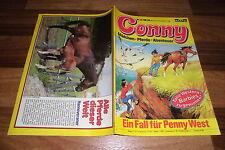 CONNY  # 43 -- MÄDCHEN - PFERDE - ABENTEUER  // 1. Auflage 1.1.1980
