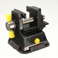 Mini Vice Vise Press Bench Clamp Rubber Suction Base Table Top Carving Fixture