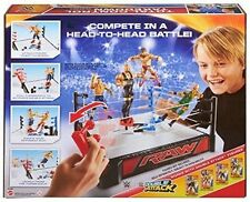 WWE RAW Wrestling Double Attack Total Control Takedown Wrestling Ring NEW NIB