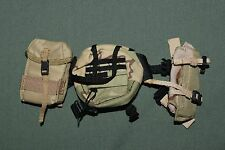 """1:6 Modern US Army Backpack Pouches Gear LOT for 12"""" Action Figures C-116"""