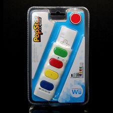 NEW PopStar Guitar Game Remote Controller For Nintendo Wii