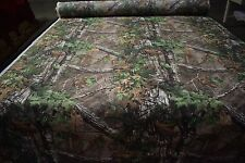 "Realtree Xtra Green Camo Outdoor Nylon Taslin Coated Fabric 62"" Wide Apparel Dwr"