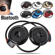 Wireless Bluetooth Stereo Headset Headphone Earphone + Mic for iPhone 6 Samsung