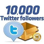10,000 HQ twitter followers - On Offer Price