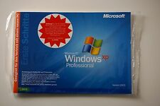 Microsoft Windows XP Professional Pro con sp3 CD SB Versione Completa Tedesco Nuovo