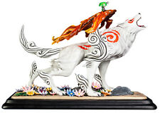 "OKAMI - Amaterasu 12"" Polystone Statue (First 4 Figures) #NEW"