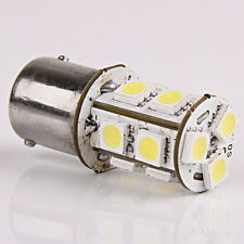 1xNew 1156 R10W BA15S P21W 13 LED 5050 SMD White Car Turn Signal Light Bulb 12V