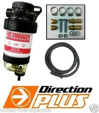 Fuel Manager 2 Micron Fuel Water separator suits 4wd's & Diesel Eng's. 12mm kit