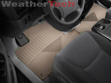 WeatherTech® All-Weather Car Mats - Toyota Sienna - 2004-2010 - Tan- rows 1&2