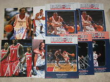 HOUSTON ROCKETS signed autographed photo lot of 10
