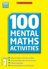 Year 1 (100 Mental Maths Activities), Gronow, Margaret, Montague-Smith, Ann, Exc