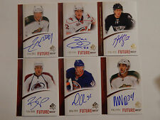 CODY ALMOND 10-11 SP Authentic # 286  Future Watch Rookie Auto CODY ALMOND