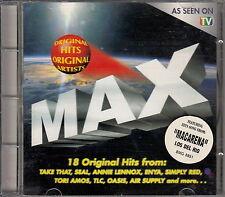 MAX - Various Artists - CD 1996, TAKE THAT, SEAL, ANNIE LENNOX, LOS DEL RIO, TLC