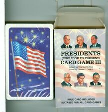 "Sealed Deck, ""Presidents #3"", Playing Cards by US Games, USA 1992 Non-Standard"