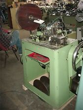 Theodore Bechtold Large Curb Fashion Chain Making Machine CUBAN CURB CHAIN