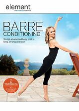 ELEMENT BARRE CONDITIONING SADIE LINCOLN DVD EXERCISE WORKOUT NEW SEALED