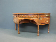 DOLLHOUSE BESPAQ ENGLISH BUFFET/ NEW WALNUT
